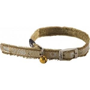 Rogz Sparkle Cat Pin Buckle Collar 11mm - Bronze