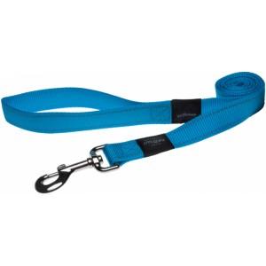 Rogz Utility Reflective Stitching Dog Lead - Turquoise